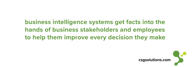 Business Intelligence Strategy